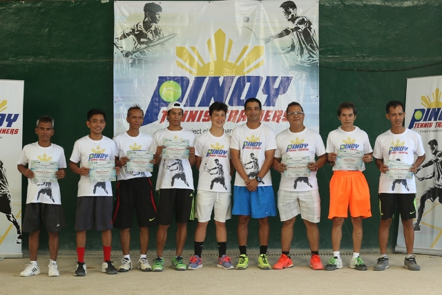 Stephan Lhuillier's Pinoy Tennis Trainers at Alabang Country Club; April 18, 20, 22 and 23