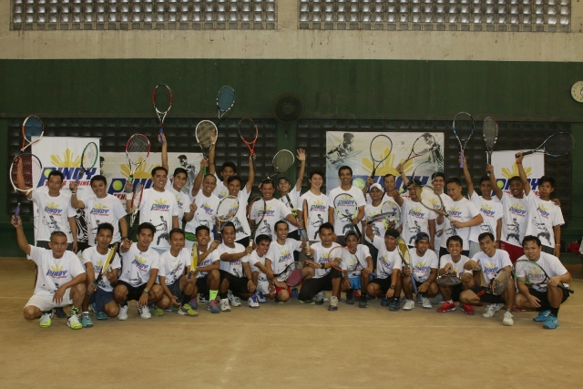 Stephan Lhuillier's Pinoy Tennis Trainers at Philippine Columbian Association