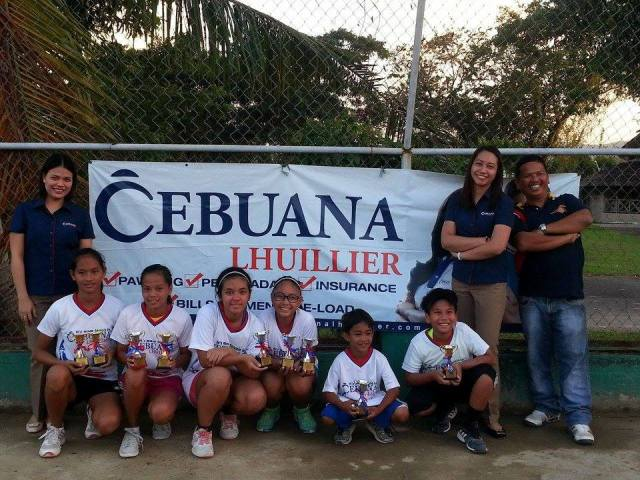 Cebuana Lhuillier Age Group Tennis co-sponsored by Dunlop 2015 -Legaspi Leg