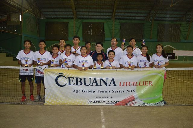 Cebuana Lhuillier Age Group Tennis co-sponsored by Dunlop 2015 - Isulan Leg
