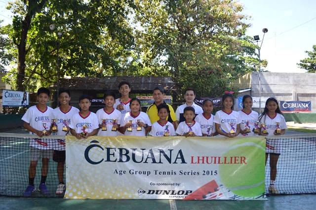 Cebuana Lhuillier Age Group Tennis co-sponsored by Dunlop 2015 - South Cotabato Leg