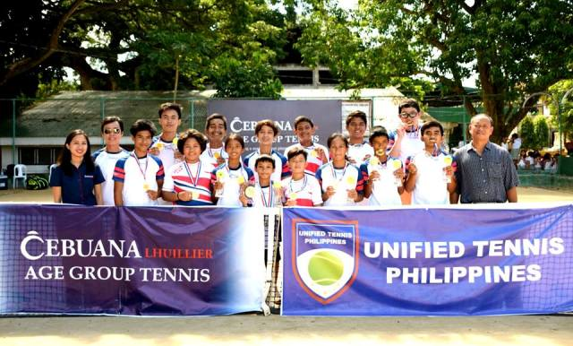 Cebuana Lhuillier Age Group Tennis - Siquijor