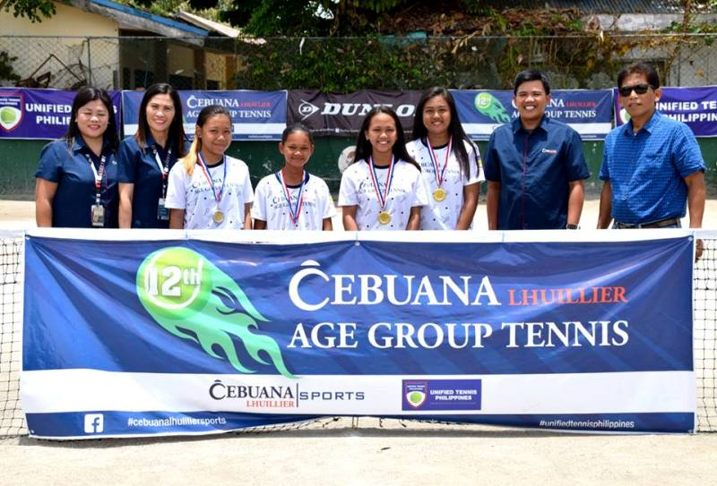 Cebuana Lhuillier Age Group Tennis 2018 Series 2018 Series- Baybay Leyte