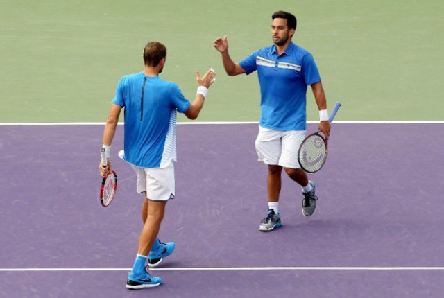 Huey, Mirnyi kick off French Open doubles bid Thursday