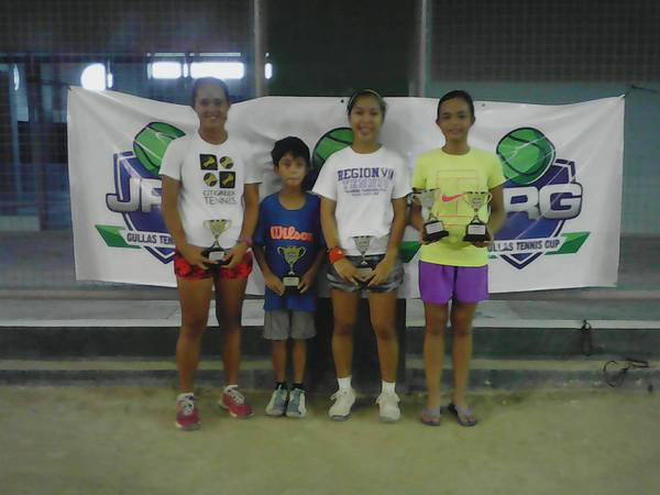 Nocos leads Cebuano winners in JRG Gullas Tennis Cup tourney