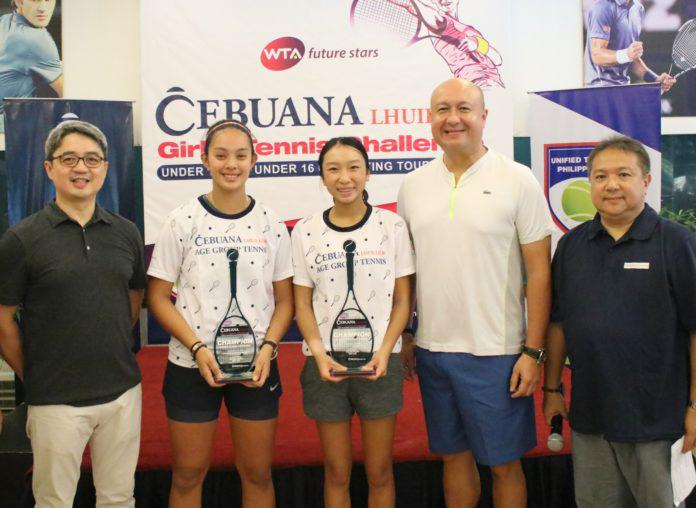 Carlos, Bayking represent the Philippines in WTA Future Stars Finals in Singapore