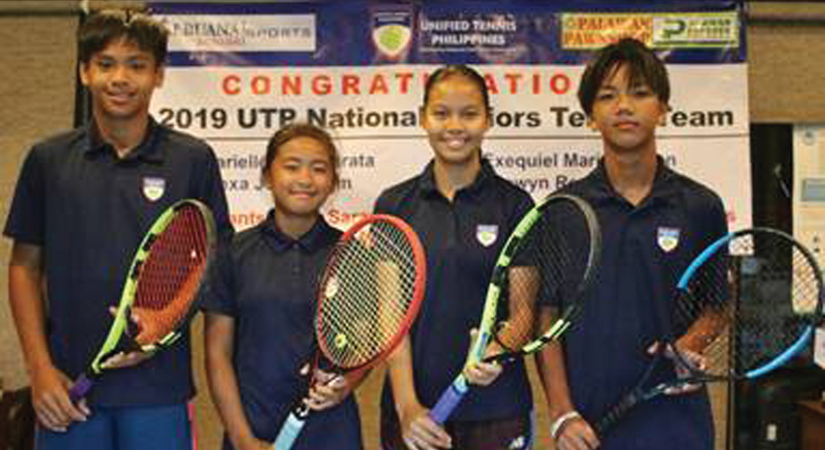 UTP junior netters in Malaysia for ATF 14-and-under tilt
