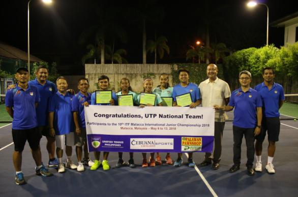 Unified Tennis Philippines names National Junior Tennis Team members