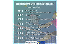 Cebuana Lhuillier Age-Group Tennis Circuit in Sta. Rosa